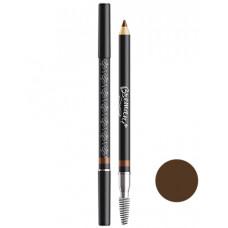 "Brow Pencil Dark Chocolate Пудровый кар-ш для бровей ""Горький шоколад"""